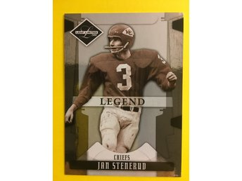 JAN STENERUD: 2008 Leaf Limited #141 499ex