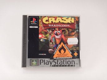 NYTT  --  Crash Bandicoot  --  Playstation / 1 Ps1  --  PAL