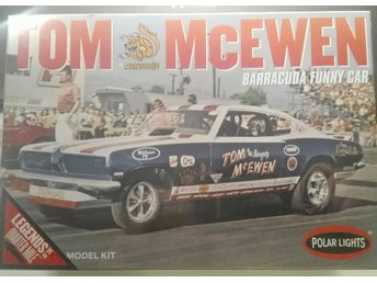 "-69 Barracuda Funny Car Tom ""MONGOOSE"" McEwen. Polar Lights 1/25."