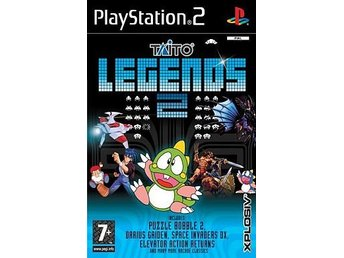 Taito Legends 2 (Helt Nytt & Inplastad) - Playstation 2