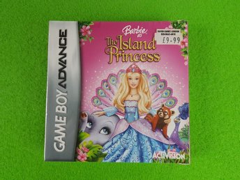 Barbie as The Island Princess NYTT INPLASTAT GBA Gameboy Advance