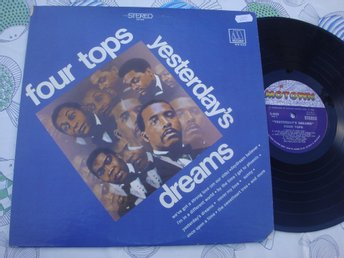 FOUR TOPS - YESTERDAY´S DREAMS LP 1968