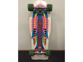 Vintage skateboard 80-tal. Santa Cruz Special edition Fish-team