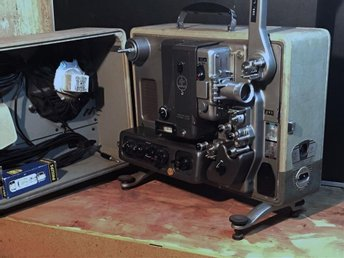 BOLEX 16mm Sound Projector RECORDER MODEL S221 Bolex  BOLEX 16mm Sound Projecto