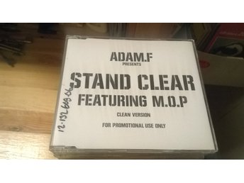 Adam.F, Featuring M.O.P - Stand Clear (Clean Version), Promo, CD