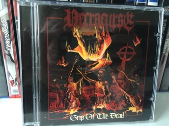 Necrocurse - Grip of the Dead (Nifelheim), Svensk Death metal! Som Ny!
