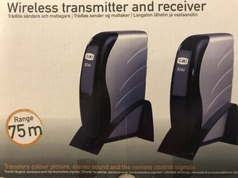 Welltech Wireless Transmission Audio & Video Sender