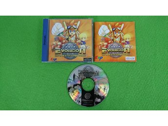 Evolution The World of Sacred Device KOMPLETT Sega Dreamcast