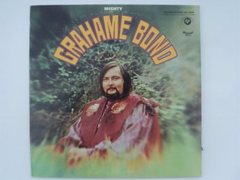 MIGHTY GRAHAME BOND - LP - US 1968 - RARE!!!