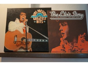 Elvis Presley Greatest Hits- collection - 7 LPs, 1 booklet,1 poster -  LP