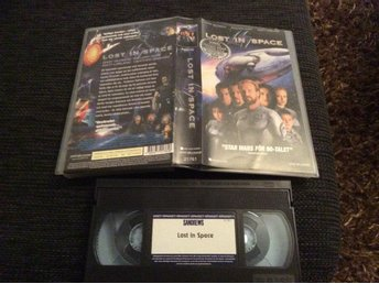 LOST IN SPACE VHS Gary Oldman,William Hurt,Matt Leblanc
