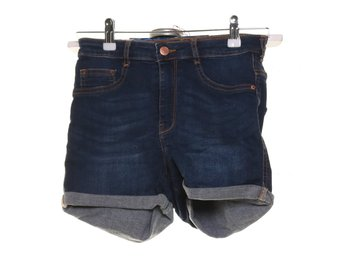 Perfect Jeans Gina Tricot, Shorts, Strl: 38, Blå