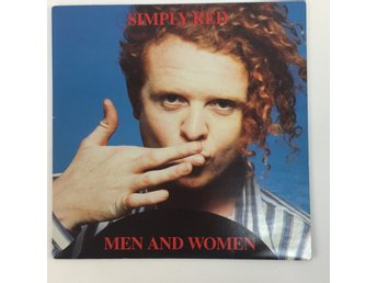 Vinylskiva, Simply red - Men and women