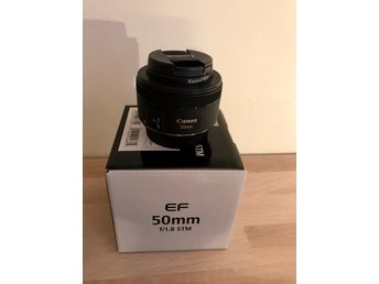 Canon EF 50mm f/1.8 STM inkl. UV-filter