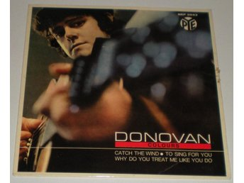 Donovan OMSLAG EP Catch the wind 1965