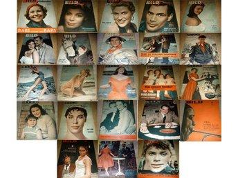 23 st BILDJOURNALEN FRÅN 1954 OCH 1956 - åkarp - 23 st BILDJOURNALEN FRÅN 1954 OCH 1956 - åkarp