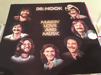 DR.HOCK MAKIN' LOVE AND MUSIC 1977 SKICK VG-VG+