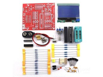 DIY M12864 Grafik Version Transistor Testkit LCR ESR PWM