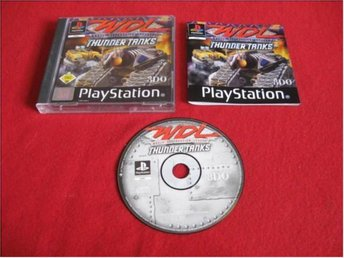 WDL THUNDER TANKS till Sony Playstation PSone