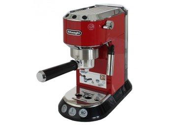 DeLonghi EC680.R Dedica portafilter espresso machine Red - Solna - DeLonghi EC680.R Dedica portafilter espresso machine Red - Solna