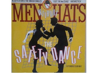 "Men Without Hats title* The Safety Dance* Synth-pop extended mix 12"" Finland"