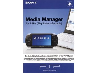 PSP - Media Manager for PSP (Playstation Portable) (Beg)