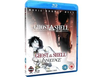 Ghost In The Shell 2.0 + Innocence - 2 Filmer 2 Disc - Bluray Blu-Ray