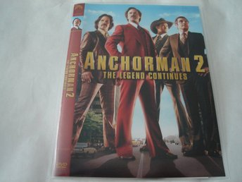 DVD-ANCHORMAN 2 The legend continues