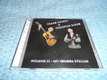 Örjan Hjorth & Christer Ågren Schlager II (CD) NM/EX