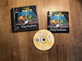 THE LAND BEFORE TIME RETURN TO THE GREAT VALLEY PLAYSTATION 1  PS1 PSONE