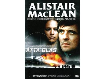 ÅTTA GLAS (1971) - Anthony Hopkins, Alistair MacLean - DVD - OOP