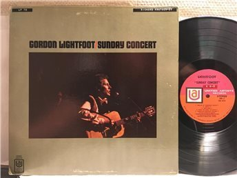 LP Gordon Lightfoot Sunday Concert