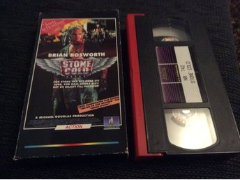 STONE COLD VHS pappfodral Brian Bosworth