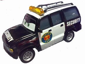 Cars Bilar Disney Pixar - Security Police stor CBM 2