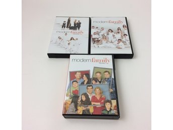 DVD Video, TV-serie, Modern family säsong 1-3
