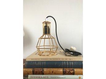 Work Lamp Design House Stockholm guld
