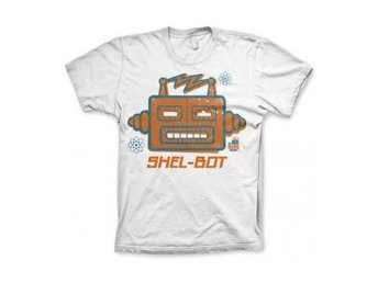 Big Bang Theory T-shirt Shel-Bot XXL