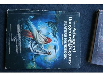 Advanced Dungeons & Dragons Players handbook  Gary Gygax