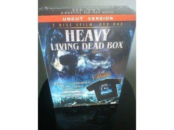 LIVING DEAD BOX Zombies/gore *Boxset* 5-Filmer T-shirt! - Tumba - LIVING DEAD BOX Zombies/gore *Boxset* 5-Filmer T-shirt! - Tumba