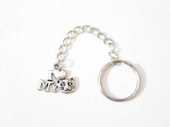 Love my cat nyckelring / Love my cat keyring
