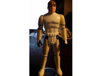 RARE LAST 17! LUKE SKYWALKER STORMTROOPER DISGUISE 1984 POTF Vintage Star Wars!