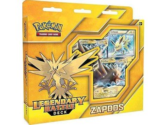 1st Pokemon Legendary Cards Battle Decks - Zapdos EX, Ny oöppnad. - Vindeln - 1st Pokemon Legendary Cards Battle Decks - Zapdos EX, Ny oöppnad. - Vindeln