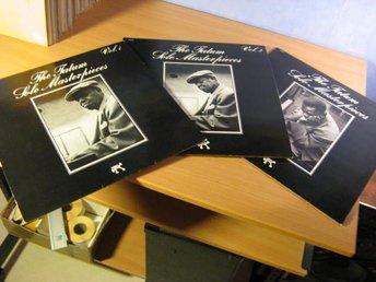 Art Tatum. 3 st Solo Masterpieces Vol 1,2,3. Pablo. Alla MINT vinyler. 1975 ncb. - Sjulsmark - Art Tatum. 3 st Solo Masterpieces Vol 1,2,3. Pablo. Alla MINT vinyler. 1975 ncb. - Sjulsmark