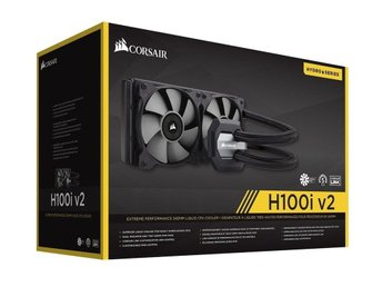 Corsair Hydro Series H100i v2 Extreme Performance Liquid CPU Cooler