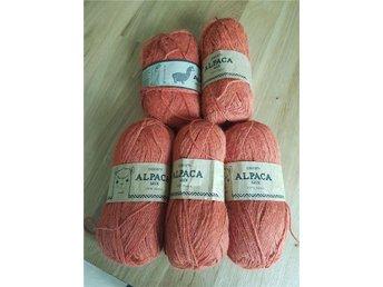 5 nystan Alpaca från Drops. Terracotta - Tranås - 5 nystan Alpaca från Drops. Terracotta - Tranås