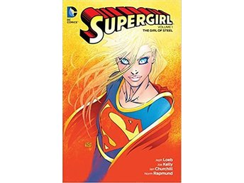Supergirl Vol. 1 The Girl of Steel TP NY!