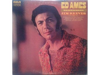 Ed Ames title* Remembers Jim Reeves* Folk, World, & Country LP US