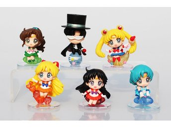 6st Sailor Moon Figurer Anime Tecknat