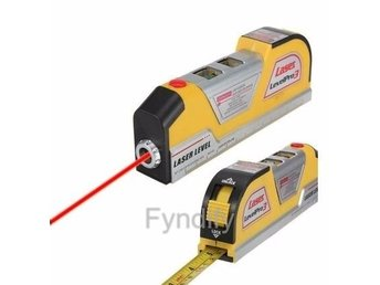 Laser Level Horizontal Vertical Line Measure Measuring Tape 8 FT