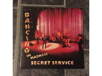 "SECRET SERVICE - DANCING IN MADNESS. (NM 7"")"